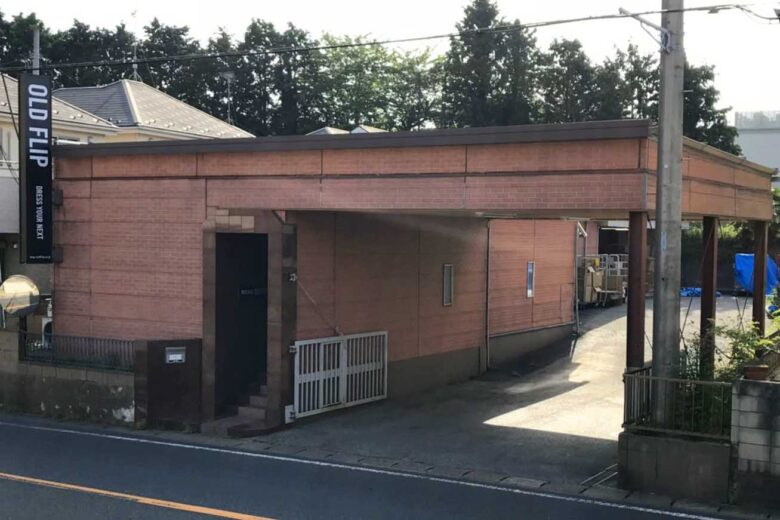 oldflip本社倉庫